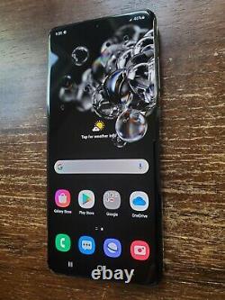 Samsung Galaxy S20 Ultra 5G SM-G988U1 (Unlocked) 512GB Black SMALL SPOT ON LCD