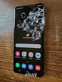 Samsung Galaxy S20 Ultra 5G SM-G988U1 (Unlocked) 512GB Black TINY SPOT ON LCD