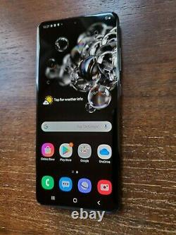 Samsung Galaxy S20 Ultra G988U1 (Factory Unlocked) 128GB Black TINY SPOT ON LCD