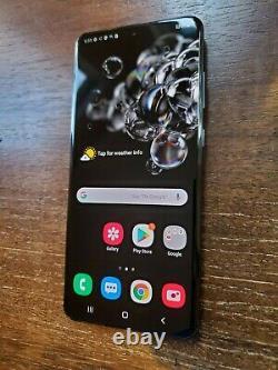 Samsung Galaxy S20 Ultra SM-G988U (Unlocked/AT&T) 512GB Cosmic Black LCD BURN