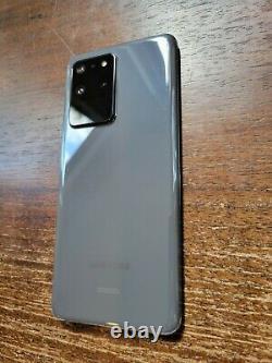 Samsung Galaxy S20 Ultra SM-G988U1 (Factory Unlocked) 128GB Gray LCD BURN