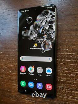 Samsung Galaxy S20 Ultra SM-G988U1 (Factory Unlocked) 512GB Black LCD BURN
