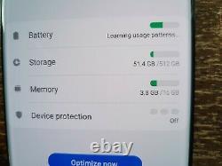 Samsung Galaxy S20 Ultra SM-G988U1 (Unlocked) 512GB Black MINOR LCD ISSUES