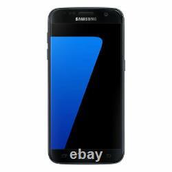 Samsung Galaxy S7 32GB Schwarz Gebraucht Burned LCD