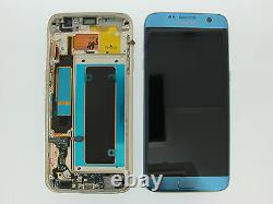 Samsung Galaxy S7 Edge G935f LCD Screen Display Original Genuine Coral Blue Uk