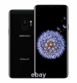 Samsung Galaxy S9 64GB Midnight Black Top Zustand Burned LCD