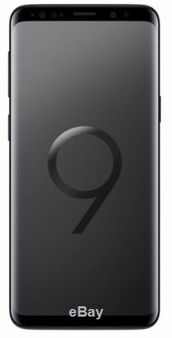 Samsung Galaxy S9 SM-G960 64GB Black (Factory Unlocked) Has LCD Burn Excellent