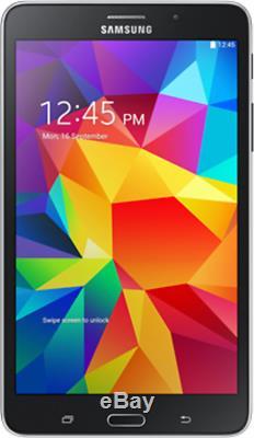 Samsung Galaxy Tab 4 Black SM-T230NU 7 8GB (Wi-Fi), 2GHz Quad-Core