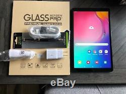 Samsung Galaxy Tab A SM-T510 (2019) 10.1 32GB Black Open Box BUNDLE