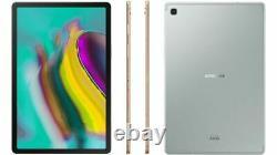 Samsung Galaxy Tab S5e T727V 64GB Wi-Fi + 4G Unlocked Silver Tablet LCD Shade