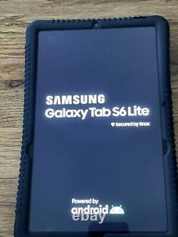 Samsung Galaxy Tab S6 Lite SM-P610 64GB Oxford Gray Bundle