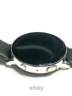Samsung Galaxy Watch Active2 Smartwatch 44mm Stainless Steel SM-825X LCD BURN IN