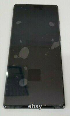 Samsung galaxy Note 20 Gray LCD Touch Screen Digitizer + Frame N980 OEM NEW N981