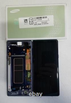 Samsung galaxy Note 9 LCD Display Screen Digitizer Replacement + Frame N960 BLUE