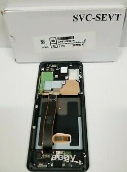 Samsung galaxy S20 Ultra Black LCD Touch Screen Digitizer + Frame G988 OEM NEW