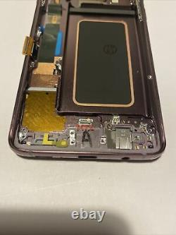 Screen Replacement For Samsung Galaxy S9+ PLUS SM-G965D Purple LCD/Frame