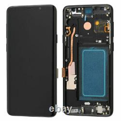 UK OLED Display LCD Touch Screen+Black Frame For Samsung Galaxy S9 Plus SM-G965